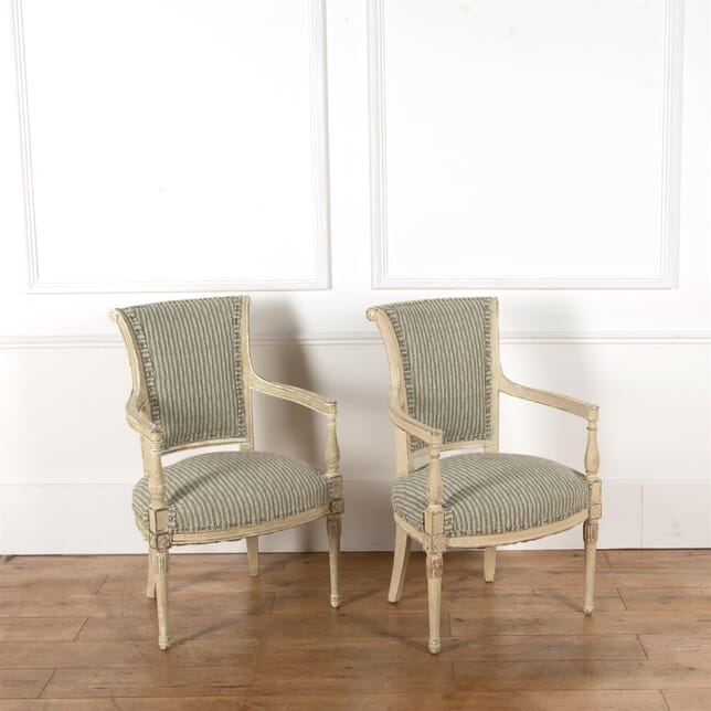 Pair of French Directoire Armchairs CH9062651