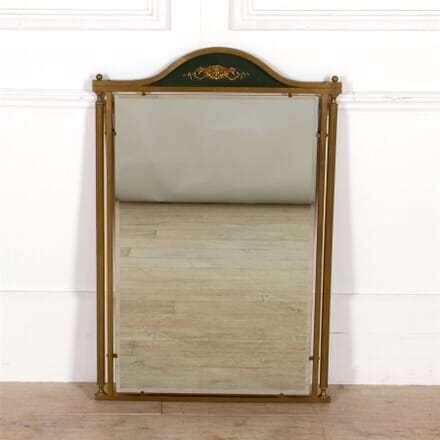 Brass Framed Neo Classical Mirror MI307530
