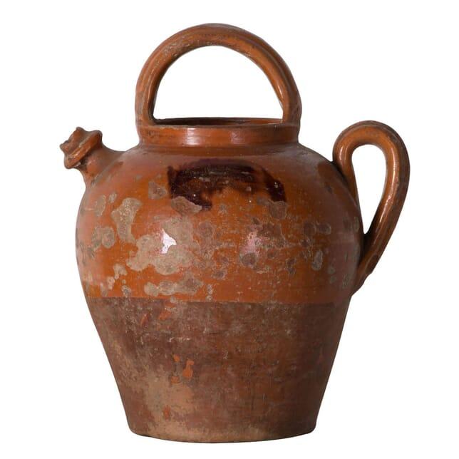 19th Century Glazed Cruche DA136343