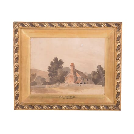 Old Cottage Water Colour WD2859593