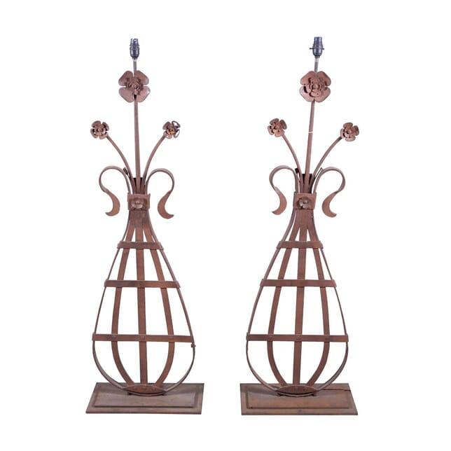 Decorative Pair of 19th Century Lamps LT6059315