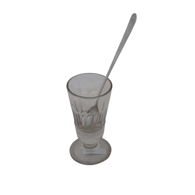 French Absinthe Glass and Spoon DA4454947