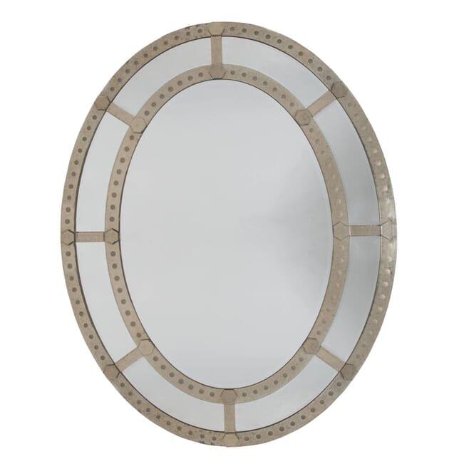 20th Century Oval Mirror MI107809