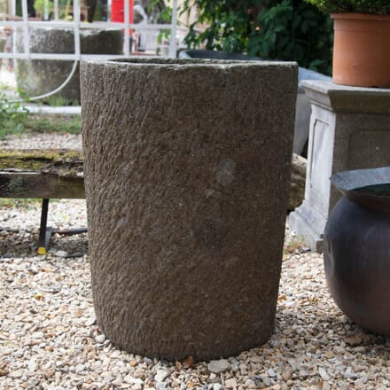 19th Century Rough Hewn Stone Planter GA4261644