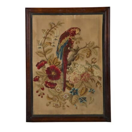 19th Century Parrot Needlework WD6859708