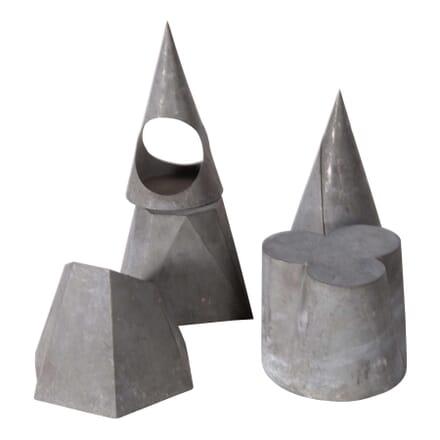 Zinc Geometric Shapes DA5558795