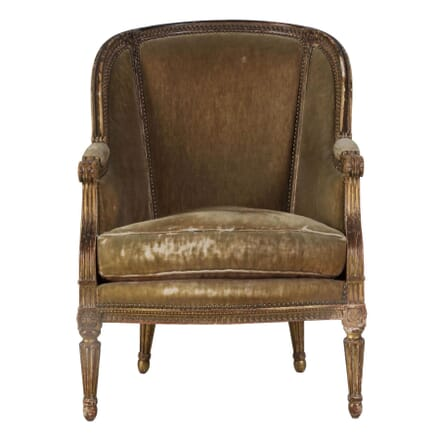 19th Century French Giltwood Chair CH2010152