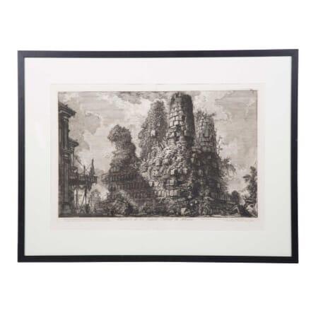 18th Piranesi Lithograph Print WD3759096