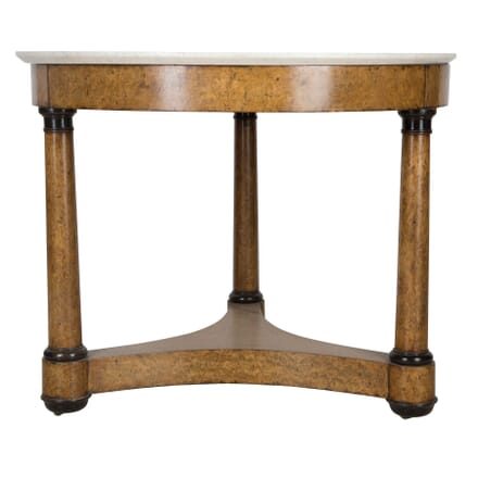 19th Century French Burr Walnut Centre Table TC0159622