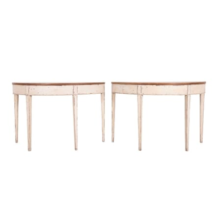 Pair of Georgian Painted Console Tables CO4559957