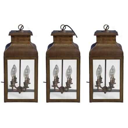 Bronzed Lanterns LL5355960