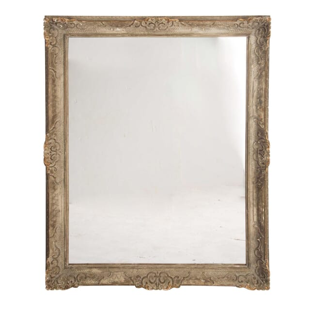 Large Mirrored 19th Century Carved Frame MI1559011