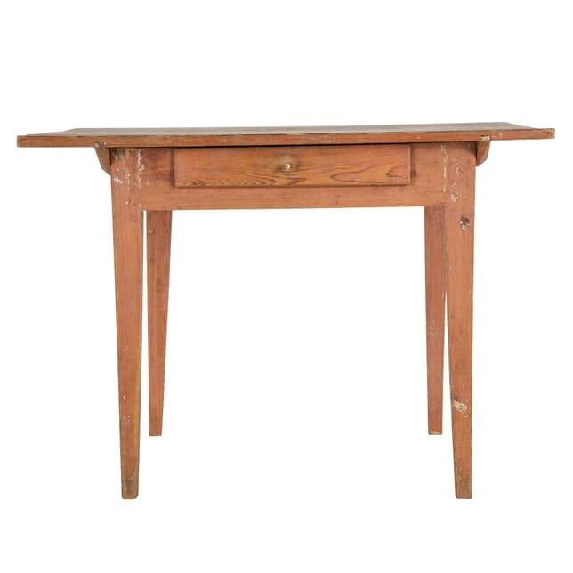 19th Century Swedish Pine Side Table TS0159283