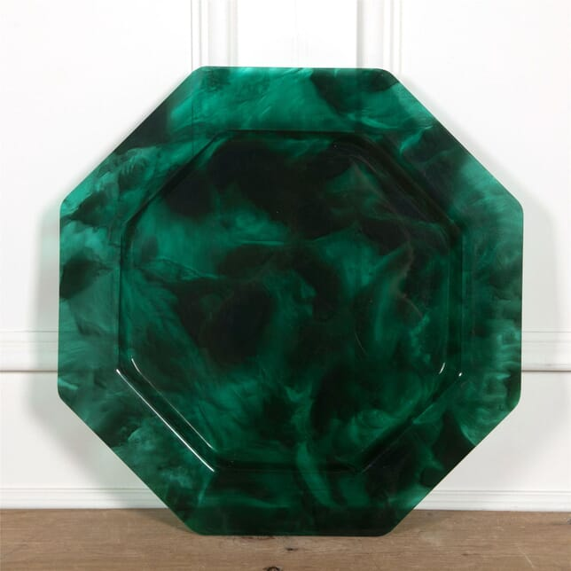 Green Lucite Cocktail Tray DA1561880