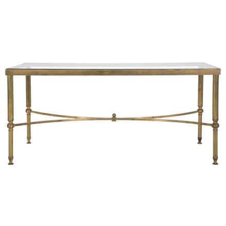 Brass and Glass Low Table TC047107