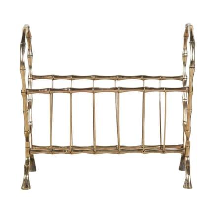 Mid Century Faux Bamboo Magazine rack OF1554170