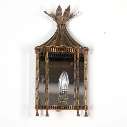 Mid Century Chinoiserie Pagoda Wall Light LW5961463