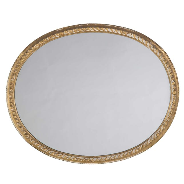 19th Century Oval Mirror MI2955852