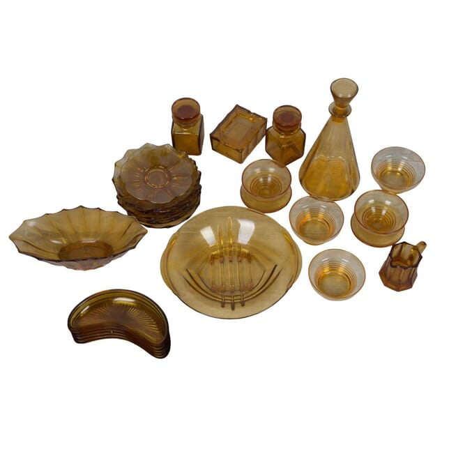 Collection of Amber Glass DA1311210