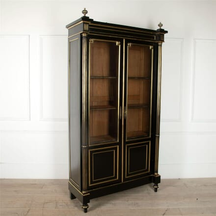 French Ebonised Bookcase BK4861672