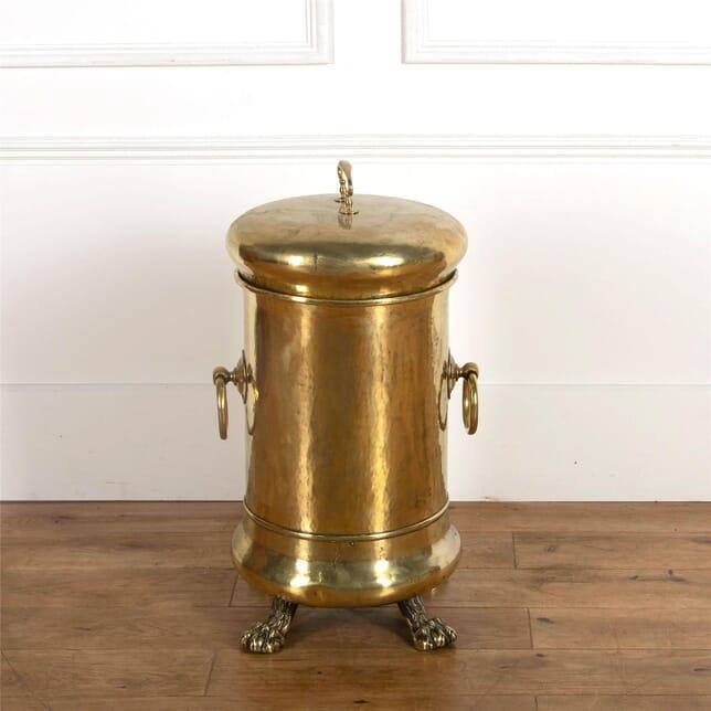 19th Century Brass Bin DA107238