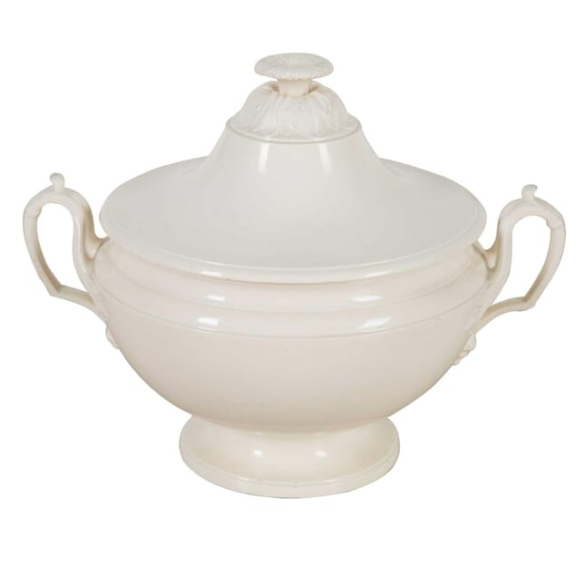 19th Century French Creamware Tureen DA9060460