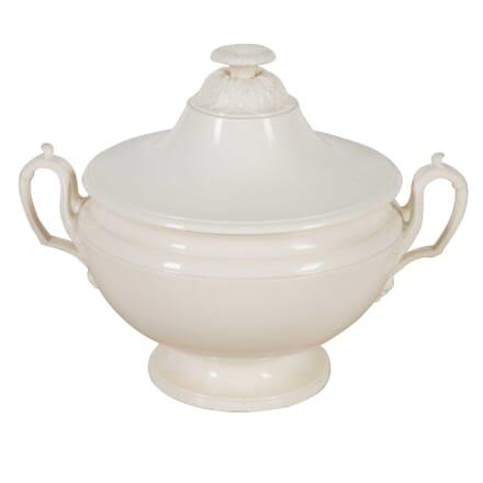 19th Century French Creamware Tureen DA9060460