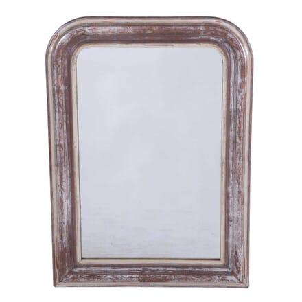 Silver Gilt Louis Philippe Mirror with Leaf Design MI7159830