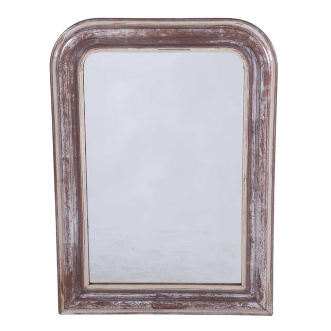 Silver Gilt Louis Philippe Mirror with Leaf Design MI7159830