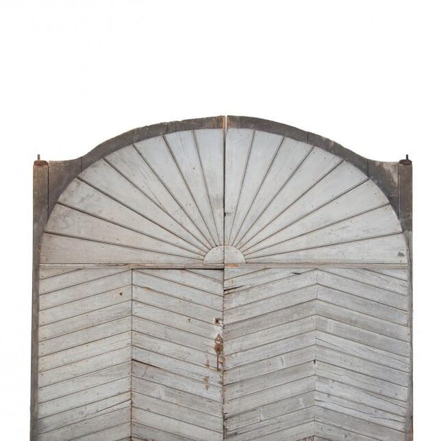 Oak Carriage Doors From Chateau in the Loire DA021873