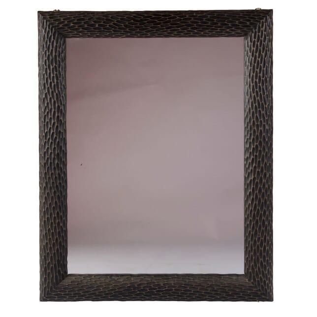 Contemporary Oak Mirror MI0158694