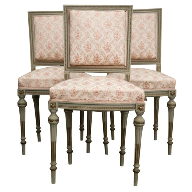 Set of Louis XVI Revival Side Chairs CH9955541