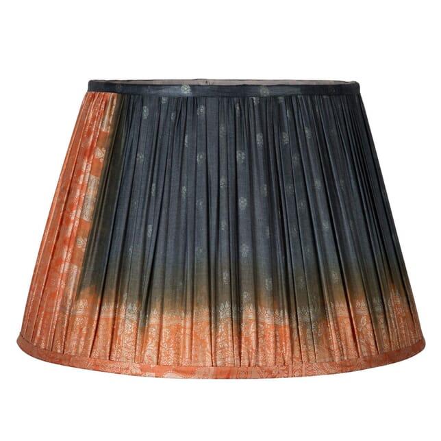 50cm Orange Silk Lampshade LS6659405