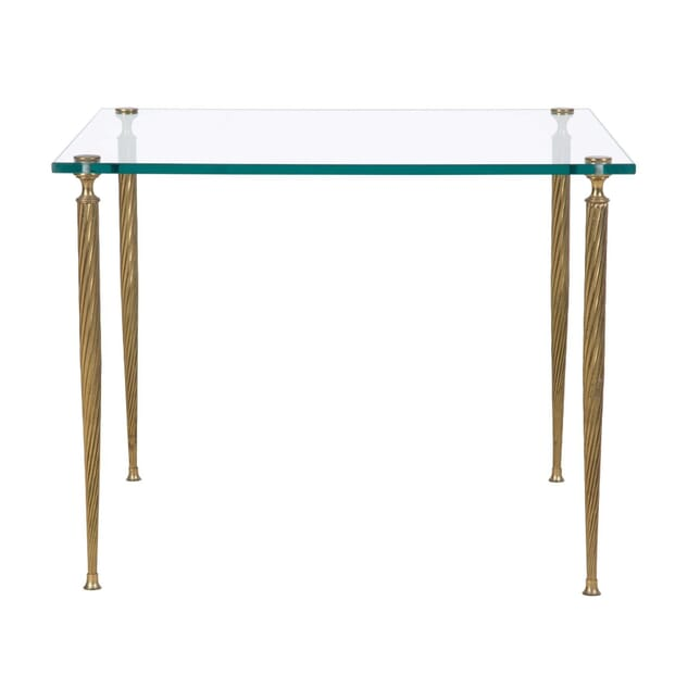 Brass and Glass Side Table TS235061