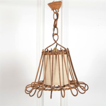 Rattan Ceiling Pendant in the Manner of Janine Abraham LC3062007