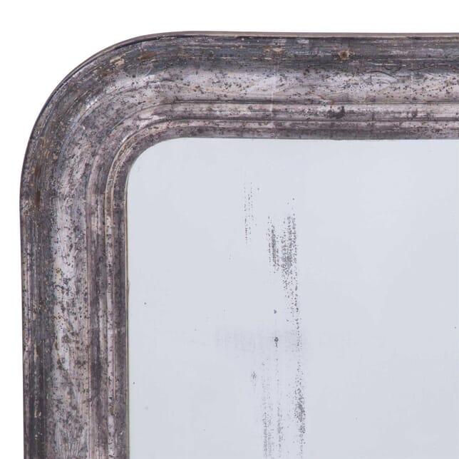 Silver Gilt and Blue Bole Louis Phillippe Mirror MI7159833