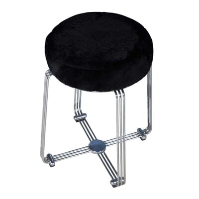 Remarkable Set Of 4 Chrome Aluminium Bar Stools Caraccident5 Cool Chair Designs And Ideas Caraccident5Info