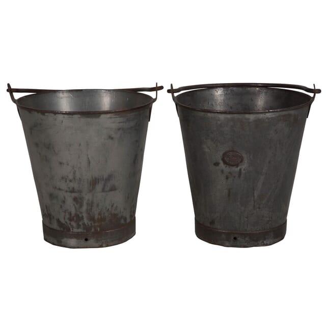 Pair of Steel Buckets DA016088