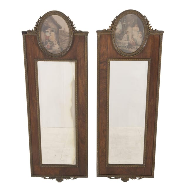 Pair of Rosewood Pier Mirrors MI7260423