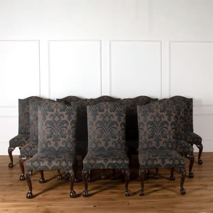 Fine Set of Twenty-One George II Style Dining Chairs CD277406