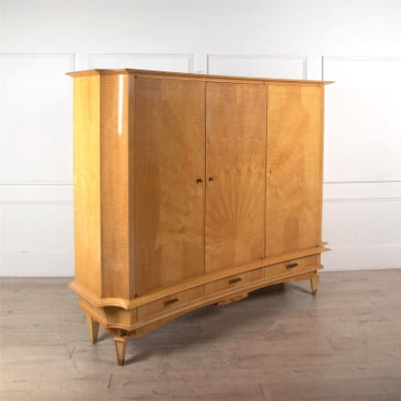 19th Century Sycamore Cupboard CU3061922