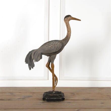 Decorative Carved Wooden Crane DA2862064