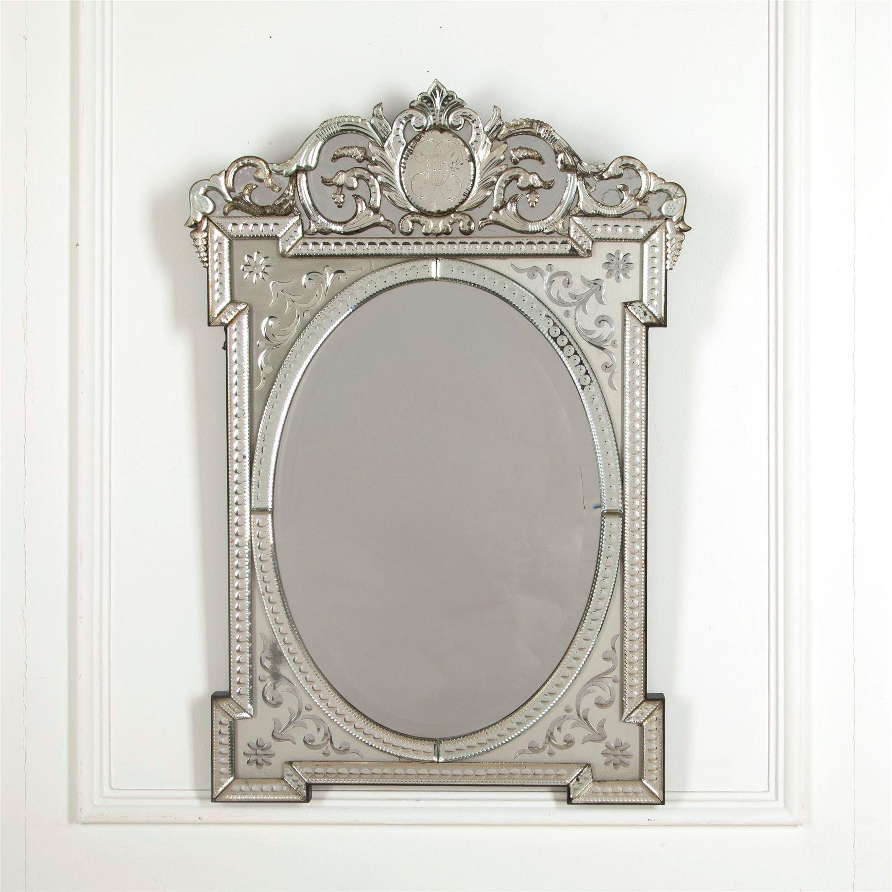 19th Century Venetian Mirror Lorfords Antiques