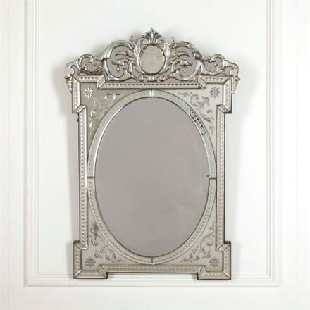 19th Century Venetian Mirror MI157023