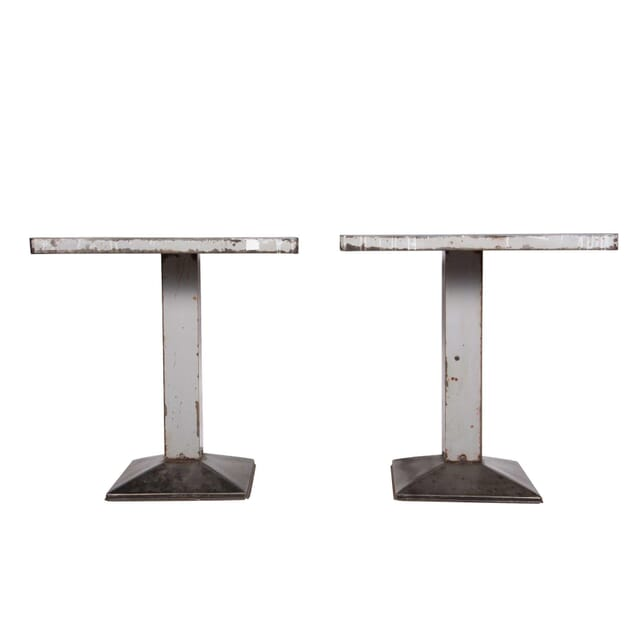 Pair of French Tolix Tables TS3759105