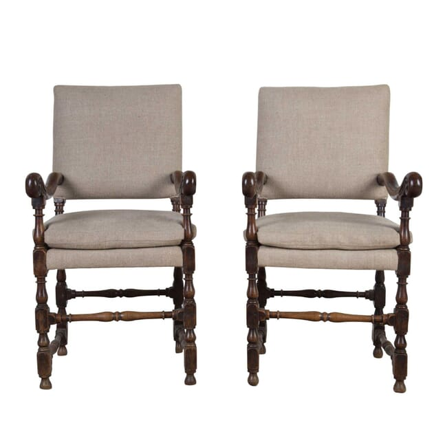 Pair of Flemish Chairs CH4155074