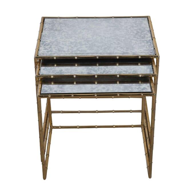 Set of Brass Nesting Tables TS3054980