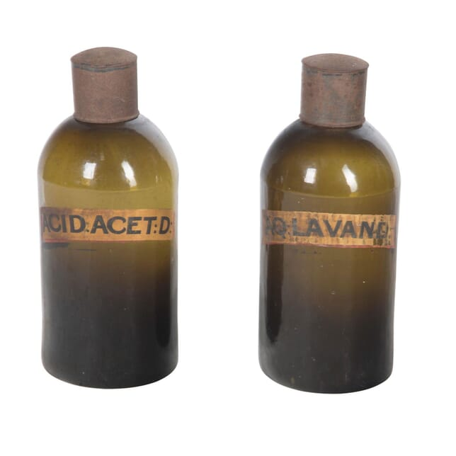Pair of Apothecary or Pharmacy Glass Jars DA5956606