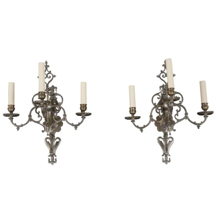 Pair of French Wall Sconces c.1900 LW213377