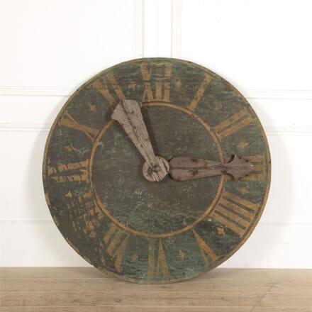 18th Century Copper Clockface GA907670